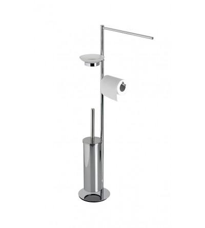 Multifunctional steel floor lamp Capannoli Hoop HP175