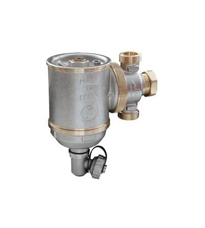 Giacomini-Dirt separator in compact magnetic boiler r146c