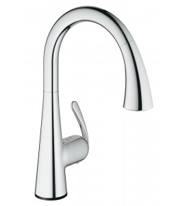 Grohe Zedra Touch electronic single lever kitchen mixer chrome 30219001