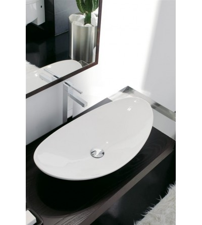 Lay-on washbasin Scarabeo Zefiro 70 8206