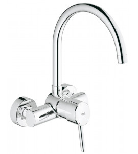 "Grohe Concetto wall-mounted, single lever kitchen mixer 1/2"" 32667001"