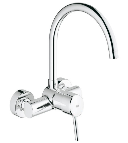 Grohe Concetto Mitigeur Monocommande évier Montage Mural 32667001