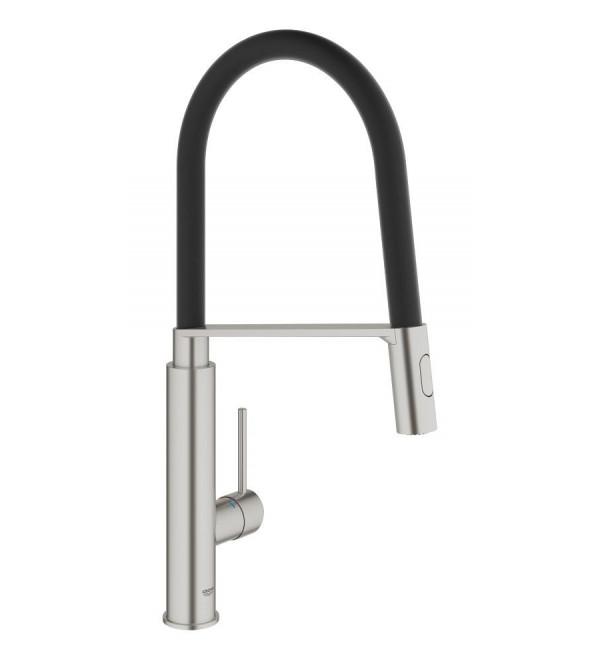 Grohe concetto miscelatore monocomando per lavello 31491000 rubinetteria shop - Rubinetti grohe cucina ...