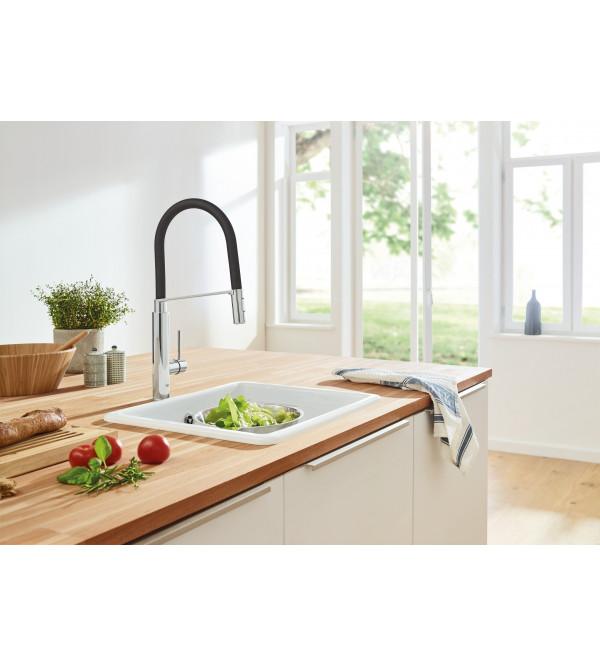Grohe concetto miscelatore monocomando per lavello 31491000 rubinetteria shop - Rubinetti cucina grohe prezzi ...