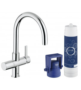Grohe Blue® Pure Starter Kit, C-spout chrome 33249001