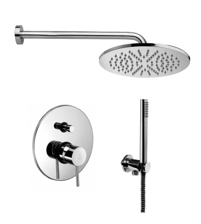 complete set for shower Paffoni Light KITLIG015