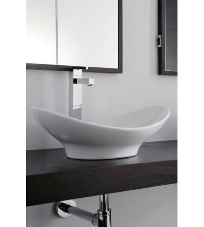 Lavabo installazione da appoggio Scarabeo Zefiro 50 8207