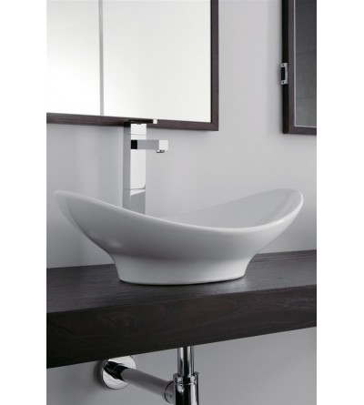 Lay-on washbasin Scarabeo Zefiro 50 8207