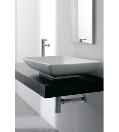 SCARABEO - LAY-ON  WASHBASIN THIN-LINE KYLIS 8046