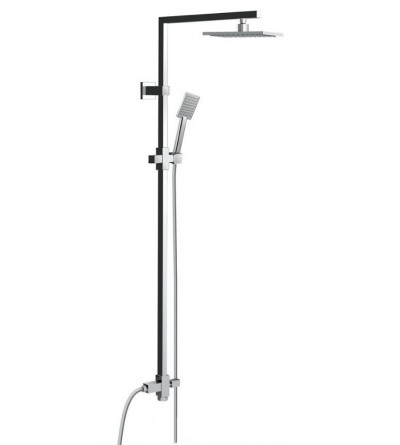 Pollini Acqua Design - Colonna doccia Quadra - Minimal Light art 6CD02A18T030