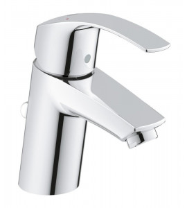 Grohe Eurosmart single lever basin mixer, S-Size with pop-up waste set 33265002
