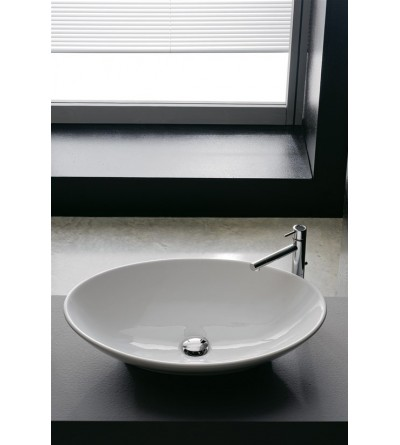 Lay-on washbasin Scarabeo Thin-Line Neck 8045