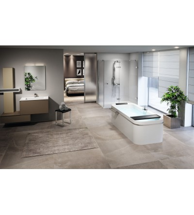 novellini-rectangular bathtub freestanding divina F