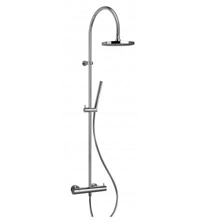 colonne de douche avec mitigeur thermostatique piralla essenza 0ES00199A16