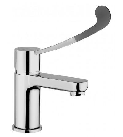 Wash basin mixer with clinical handle Piralla Riflesso 0RI00088B16