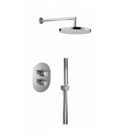 kit set 2 outlets thermostatic shower set huber icon 913D.IC25H