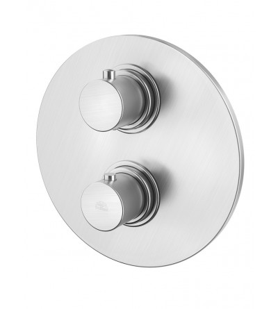 CONCEALED THERMOSTATIC SHOWER MIXER 3 OUTLETS PAFFONI LIGHT EXCLUSIVE LIQ019