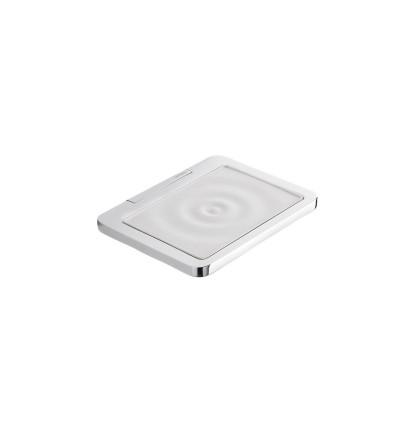 Chromed soap holder Capannoli Strip SX102