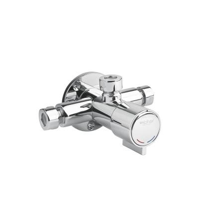 Mezclador temporizado para ducha con pulsador Idral 08133