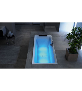 RECTANGULAR BATH HYDROMASSAGE HYDRO AIR NOVELLINI
