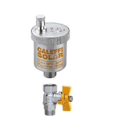 Valvola automatica si sfogo aria per impianti solari Caleffi 250