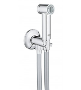grohe-Sena Trigger Spray 35 Wall holder set with angle valve 1 spray 26332000