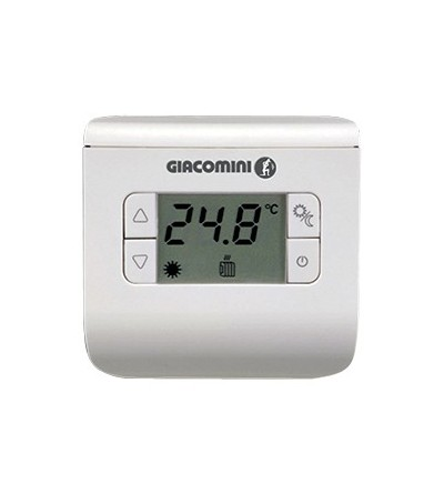 Thermostat, surface mounting installation giacomini k494ay001