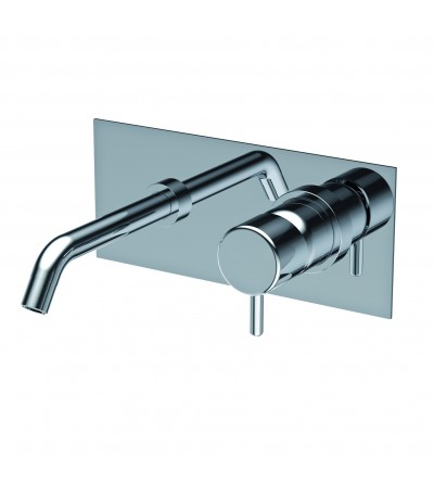 built-in single lever basin mixer reverso ritmonio Q0BA6013SPSX
