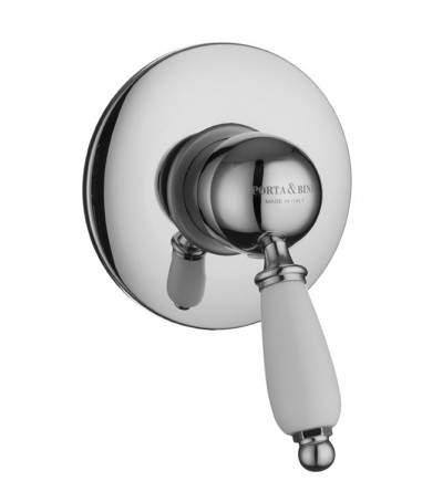 miscelatore doccia incasso new old porta&bini 10530