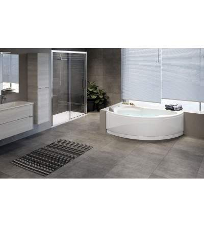 corner bath with Hydromassage vogue novellini