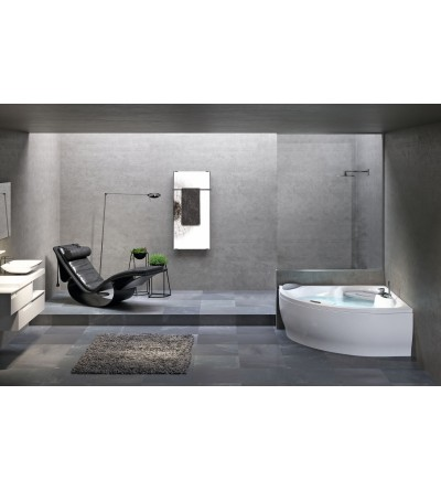 corner bath with hydromassage Plus Novellini sense 7 Z1