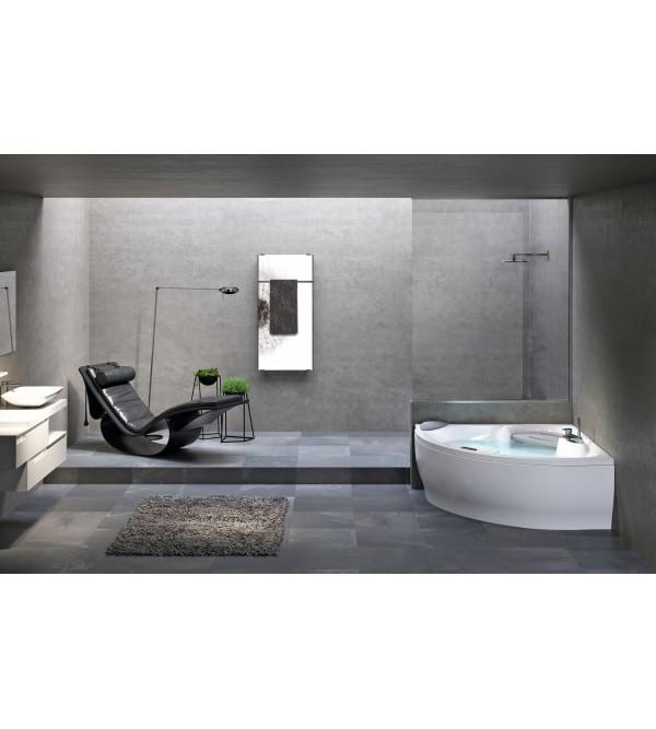 badewannen eckig novellini mit hydromassage plus sense 7. Black Bedroom Furniture Sets. Home Design Ideas