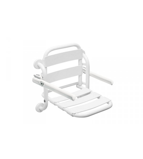 photos of white bathrooms folding shower seat idral easy l 12008 12008v 1 19959