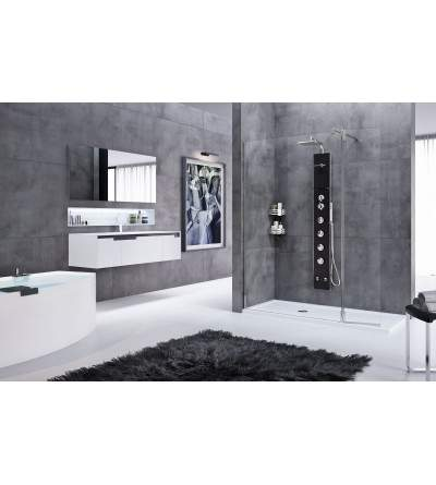 shower column novellini cascata 2