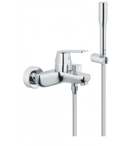 "Grohe Eurosmart Cosmopolitan wall-mounted, single lever bath mixer 1/2"" 32832000"
