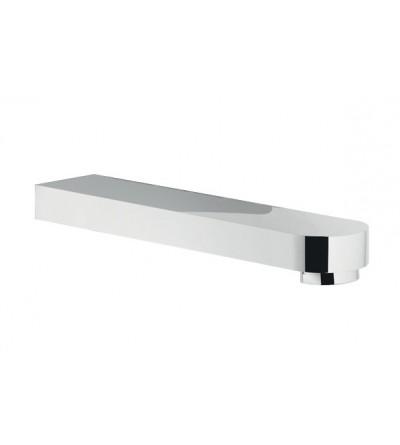 Bocca per lavabo incasso parete 150mm serie UP Nobili Rbo158/21cr