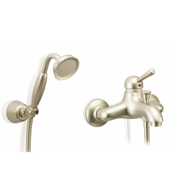 Mezclador para ducha con set de ducha porta bini new old for Mezclador para ducha grival