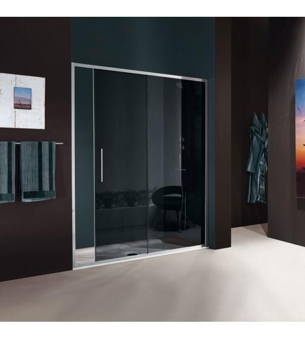 Porta scorrevole per box doccia a 2 ante samo vis - Ante per doccia ...