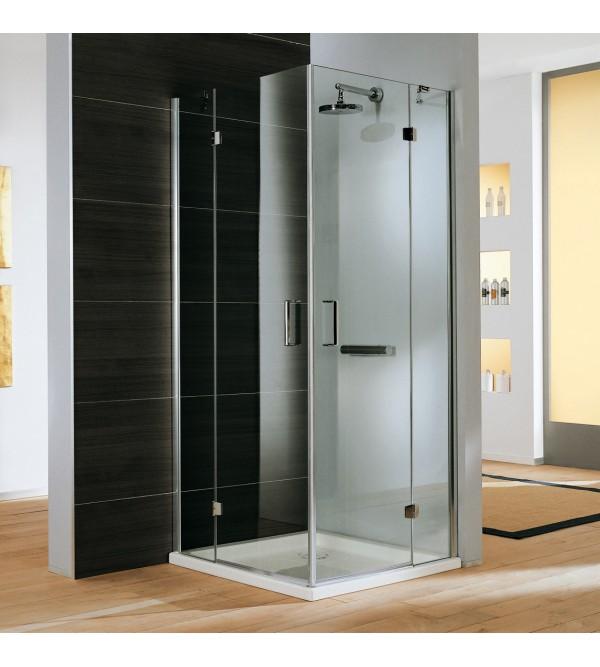 mamparas de ducha acceso de esquina samo polaris design