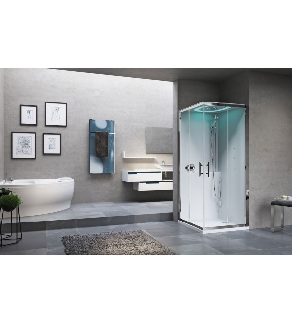 Cabina doccia multifunzione novellini eon a80 a90 - Cabine doccia multifunzione novellini ...