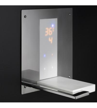 Mezclador termostático electrónico incorporado para bañera Equa ETAP09