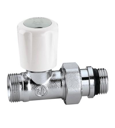 Valvola termostatizzabile attacchi diritti Caleffi 339