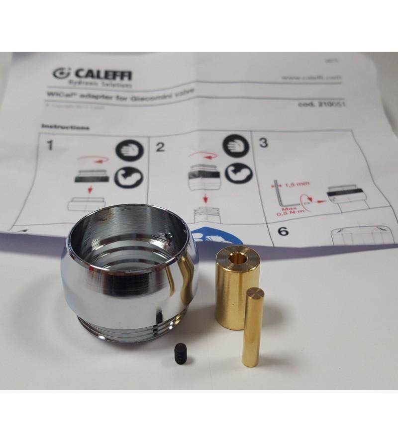 Adattatori per valvole Giacomini termostatizzabili Caleffi 210051