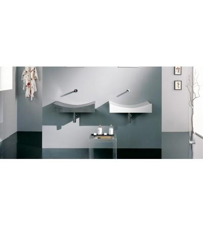 lavabo céramiques scarabeo tsunami 90 art 8038