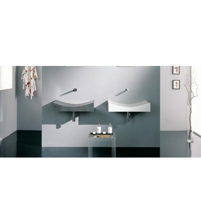 Washbasin scarabeo tsunami 90 art 8038