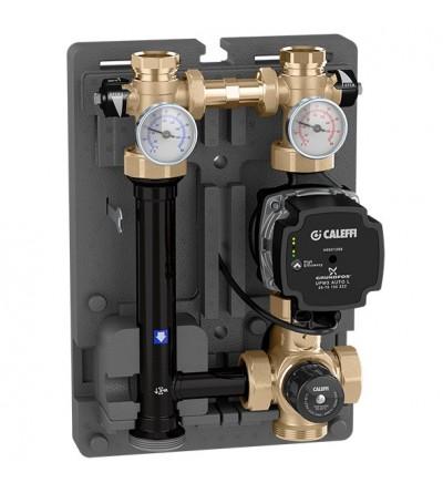 Grupo de regulación termostática para instalaciones de calefacción caleffi 166