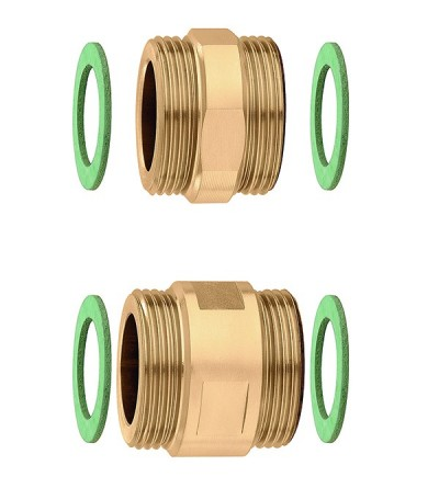 Pair of fittings with seals caleffi 675004