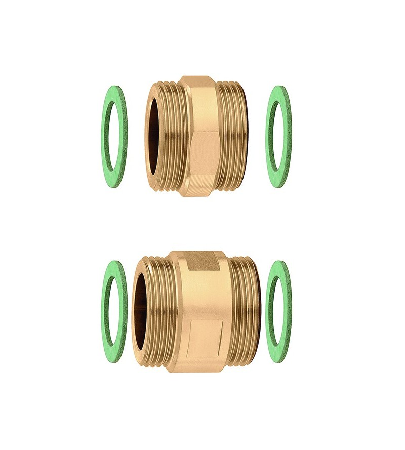 Pair of fittings with seals...