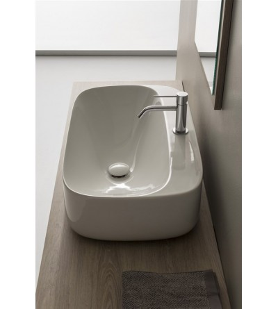 Lay-on washbasin Scarabeo Moon 70R H18 5505