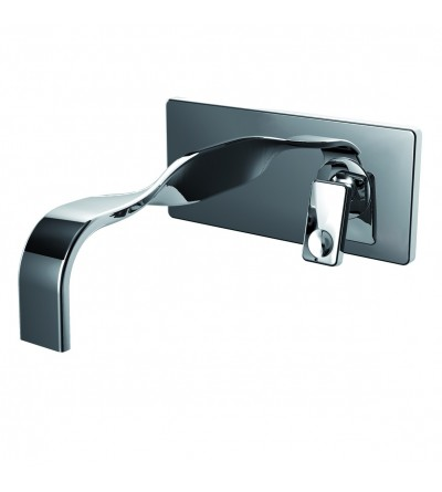 built-in single lever basin mixer tap Ritmonio Nastro U0BA8017SX